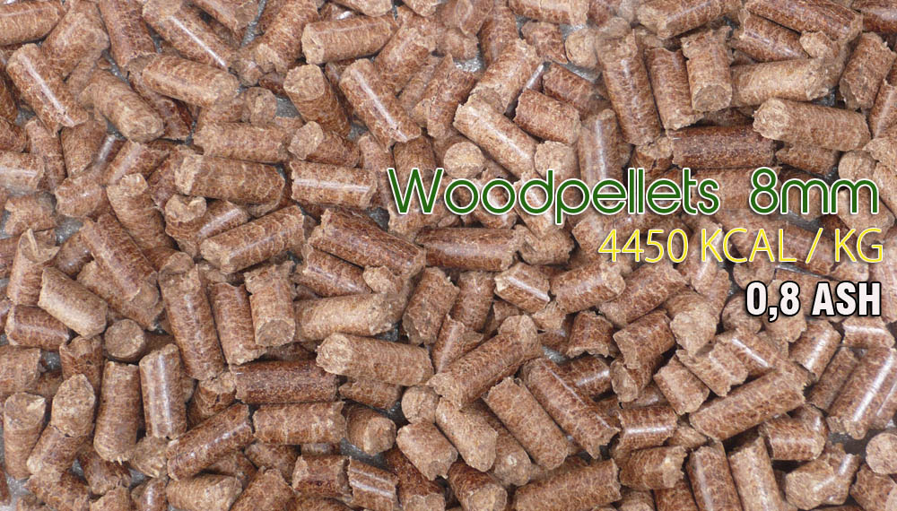 Wood Pellets 8mm
